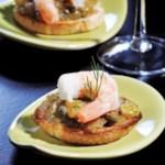 Caramelized Onion & Shrimp Bruschetta