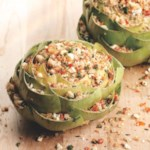 Sun-Dried Tomato & Feta Stuffed Artichokes