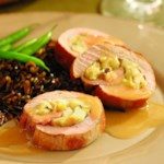 Apple-&-Leek-Stuffed Pork Tenderloin