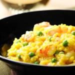 Shrimp & Pea Risotto