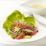Pink Grapefruit & Avocado Salad