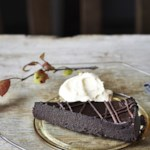 Pumpkin-Chocolate Torte with Pumpkin Whipped Cream
