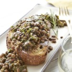 Rosemary Lentils & Greens on Toasted Bread