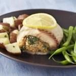 Spinach & Gruyere Stuffed Tilapia