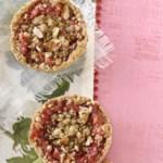 Mini Strawberry-Rhubarb Pies