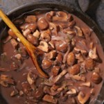 Red Wine Braised Mushroom Sauce