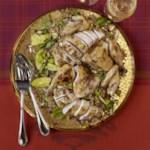 Roast Chicken & Pomegranate Farro Salad