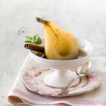 Baked Pears with Marsala-Honey Syrup