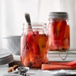 Quick Pickled Rhubarb