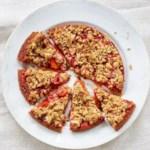 Apricot-Strawberry Tart
