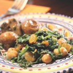 Spinach with Chickpeas