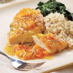 Seared Chicken with Apricot Sauce