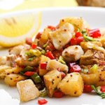 Catfish & Potato Hash for Two