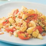 Sauteed Cauliflower & Grape Tomatoes