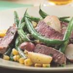 Steak & Potato Salad with Horseradish Dressing