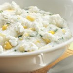 Goat Cheese Grits with Fresh Corn