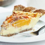 Peach Custard Pie
