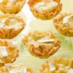 Mini Brie & Apple Quiches
