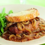 French Onion Beef Tenderloin
