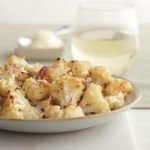 Roasted Lemon-Parmesan Cauliflower with Capers