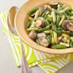 Mushroom & String Bean Salad