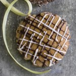 Chocolate-Drizzled Gingerbread Cookie Thins