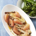Tilapia with Grapefruit-Caper Sauce