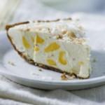 Mango-Coconut Ice Cream Pie
