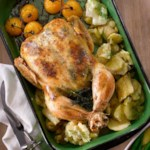 Chicken with Creamy Dill & Leek Sauce