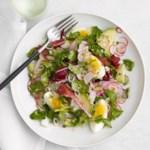 Watercress Salad with Sesame-Garlic Dressing