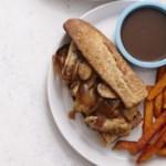 Chicken French Dip Sandwiches