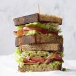 BLATs (Bacon-Lettuce-Avocado-Tomato Sandwiches) for Two