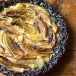 Fennel & Asiago Pie with a Wild Rice Crust