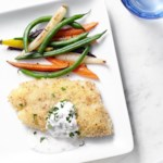 Parmesan-Crusted Cod with Tartar Sauce for Two