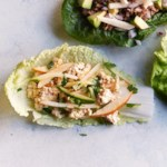 Peanut-Tofu Cabbage Wraps
