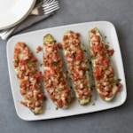 Lasagna-Stuffed Zucchini