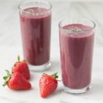 Acai-Strawberry Smoothie