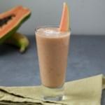 Papaya-Coconut Smoothie