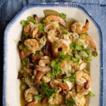 Garlic-Oregano Grilled Shrimp (Camarones Asada en Escabeche)