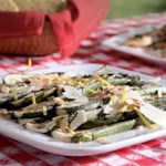 Zucchini Salad with Shaved Parmesan