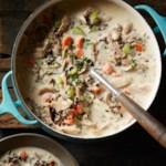 Cream of Turkey & Wild Rice Soup