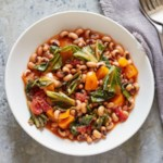 Hoppin' John with Orange Bell Peppers