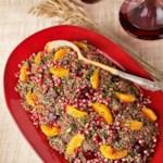 Quinoa Salad with Oranges, Beets & Pomegranate