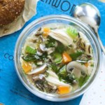 Chicken, Mushroom & Rice Soup
