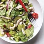 Edamame & Chicken Greek Salad