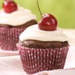Chocolate-Cherry Cupcakes