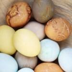 Violet Natural Egg Dye & Egg Coloring