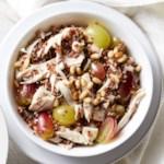 Chicken, Fennel & Grape Quinoa Salad