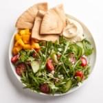 Hummus & Greek Salad