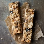 Blueberry-Cashew Granola Bars